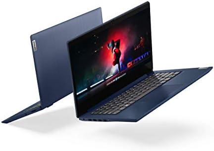 "Lenovo IdeaPad 3 14"" Laptop, 14.0"" FHD 1920 x 1080 Display, AMD Ryzen 5 3500U Processor, 8GB DDR4 RAM, 256GB SSD, AMD Radeon Vega 8 Graphics, Narrow Bezel, Windows 10, 81W0003QUS, Abyss Blue"