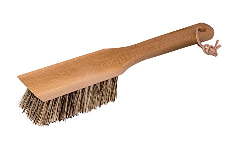 Redecker Union Fiber Garden Tool Brush with Oiled Beechwood Handle, 11-1/2-Inches