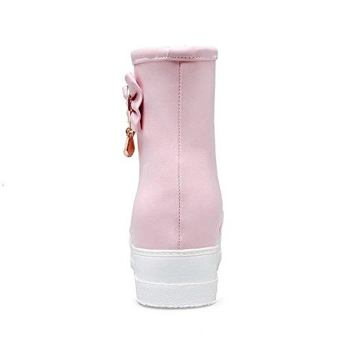 Balamasa Donna Si Alza Allinterno Stivali Da Neve Cristalli Uretano Stivali Abl10570 Rosa