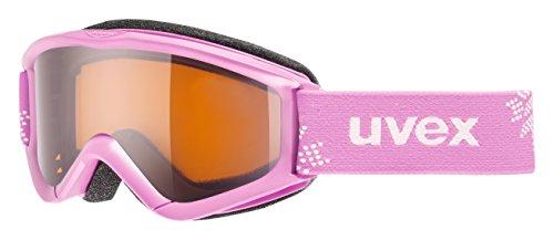 UVEX Masque de ski pour enfant Speedy Pro taille unique Pink Snowflake/Lasergold