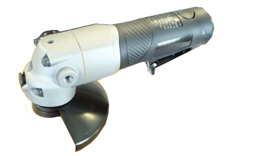 ANGLED AIR DIE GRINDER - MSI PRO Heavy Duty Right Angle Steel Body with Comfort Grip- Variable Speed 1.3HP 11,000RPM - 9