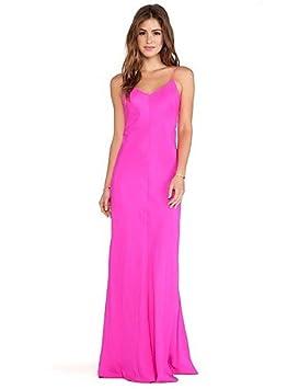 9ec60b15c Mujer Vestidos Casual 2016 Verano Mujer Fiesta/Maxi correa de Sexy Solid  vestido de Swing