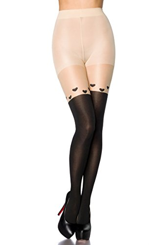 Angies Women's Black Glamour Tights Fashion ZqtZwSar7