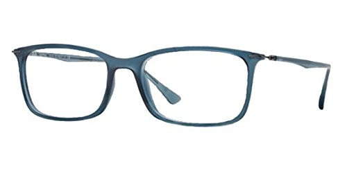 ray-ban-rx7031-light-ray-eyeglasses-5400-demi-gloss-dark-blue-55mm