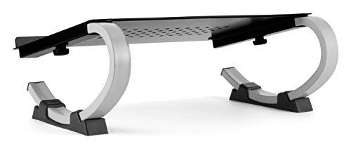 Allsop Redmond Adjustable Laptop Stand Vented Curved