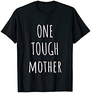 Cool Gift One Tough Mother - Tough Mother T shirt Women Long Sleeve Funny Shirt / Navy / S - 5XL