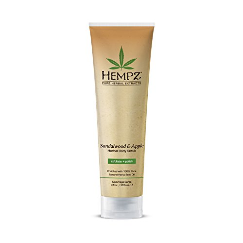 Hempz Sandalwood Apple Herbal Scrub