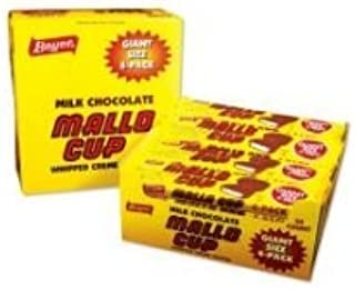 product image for Mallo Cups Giant Milk Chocolate Candy, 3 Ounce - 24 per pack -- 6 packs per case.