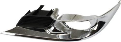 Crash Parts Plus Black and chrome Driver Side Fog Light Trim for 11-12 Toyota Avalon TO1038156