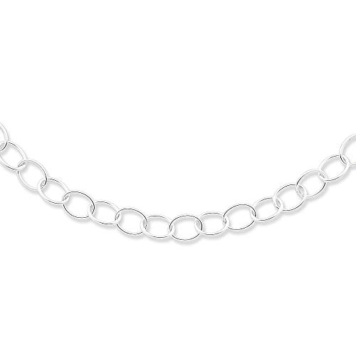(Sterling Silver Polished Toggle Closure Necklace - 20 Inch - Toggle)