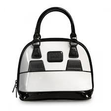 Loungefly x Star Wars Stormtrooper Patent Mini Dome Bag by Loungefly
