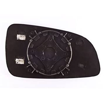 Wing Mirror Glass With Backing Plate Passenger Side LH UK