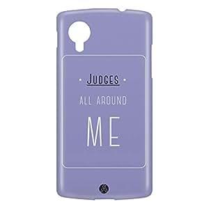 Loud Universe Nexus 5 Judges All Around Me Print 3D Wrap Around Case - Purple