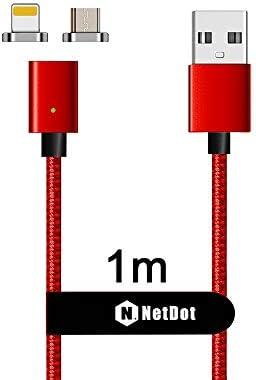 NetDot Gen7 Cable Magnético de Carga Rápida y Transferencia de ...