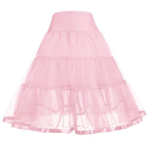 (GRACE KARIN Girls Voile Layered Tutu Ruffle Skirt Dance 10-11Y CL035-6)