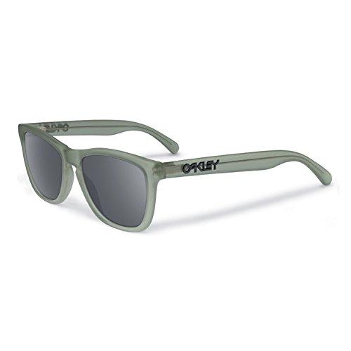 Oakley Men's Frogskins LX Round Eyeglasses,Satin Olive,56 - Oakley Frog