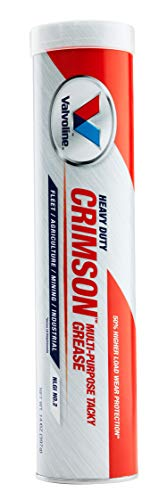 Valvoline Crimson #2 Heavy Duty (HD) Grease 14.1 OZ Cartridge