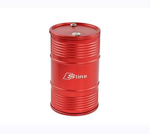 アウディ車の灰皿車のアルミ合金灰皿と互換性 (Color : Red)