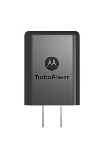 Motorola SPN5970A TurboPower 15+ QC3.0 Charger for Moto G5 Plus, G5S, G5S Plus, G6, G6 Play, G6 Plus, Z2 Force, Z2 Play, Z3, X4 -No Cable (Retail Box) by Motorola (Image #1)