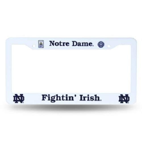 (Rico Industries NCAA Notre Dame Fighting Irish Plastic License Plate Frame )