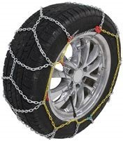EAMRTC2335 * Titan Chain Alloy Snow Tire Chains - Diamond Pattern - Square Link - 1 Pair (for Light Trucks)