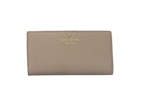 Kate Spade New York Mikas Pond Avenue Stacy Leather Wallet (Almondine) by Kate Spade New York