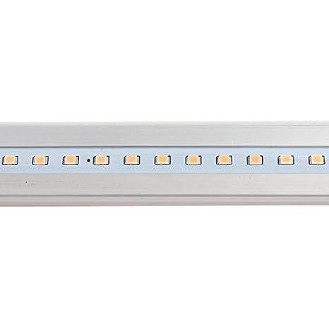 eDealMax CA 85-265V 9W T8 Tubo 2835SMD LED resistente al agua lámpara de luz Blanca Natural DE 60 cm de longitud: Amazon.com: Industrial & Scientific