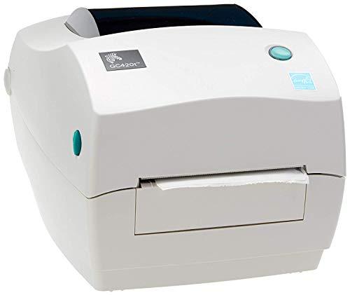 Zebra GC420t USB Parallel 203dpi EPLII, ZPLII RS232 Desktop Printer-Free Mindware High-class Ribbon