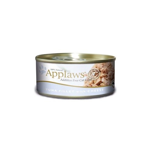 Image of Applaws Tuna Fillet with Cheese Canned Cat Food 5.5oz (24 in case)