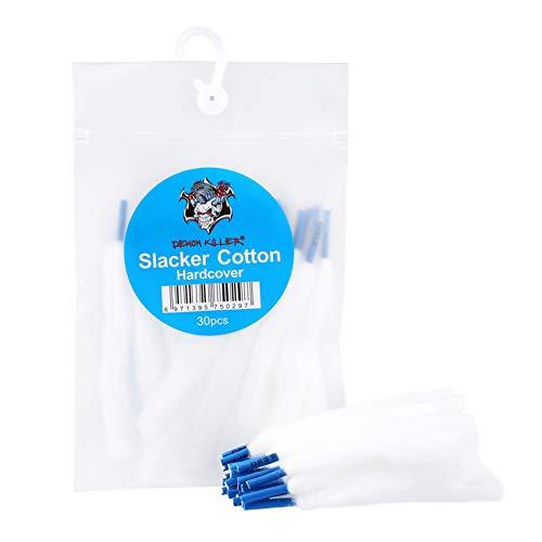 Yeleo Trosetry Vape Cotton Watte für Selbstwickelverdampfer Dampfer Watte E Zigarette Zubehör/Selbstwickler Watte (30PCS…