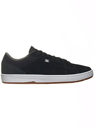 Zapatos DC Astor Super Suede - Core Skate Collection Negro-blanco Negro