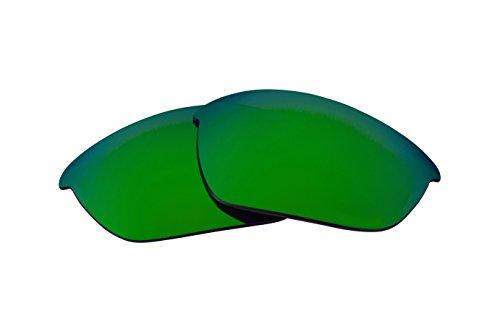 Best SEEK Replacement Lenses Oakley FLAK JACKET - Polarized - Flak Green Jacket