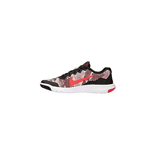 Nike Flex Experience 4 Print (GS) - Zapatillas para niño Negro