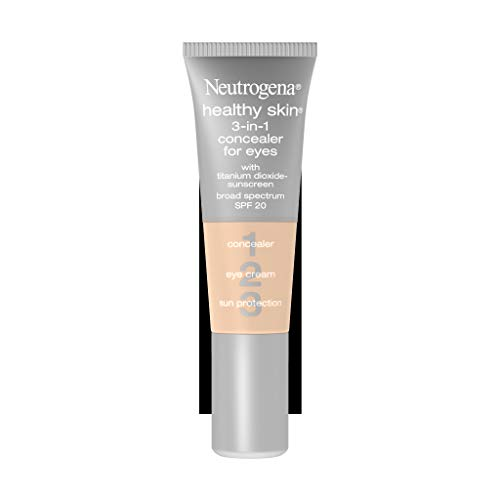 Neutrogena Healthy Skin 3-In-1 Concealer For Eyes Broad Spectrum Spf 20, Buff 09, .37 Oz. (Primer Concealer)