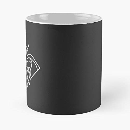 - Winter Crest Minimal - Ceramic Mugs