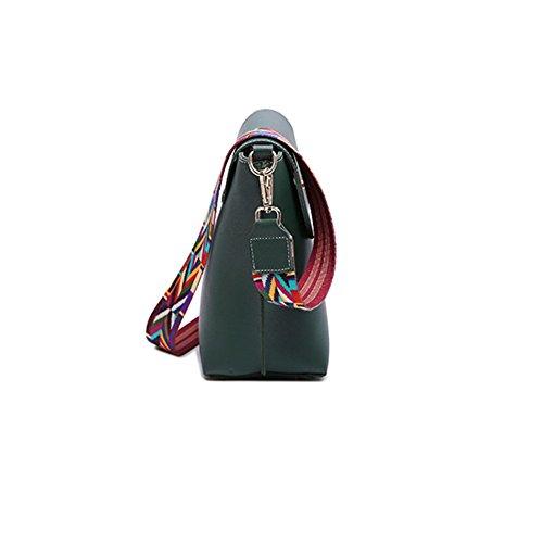 LS Super Feuer Breite Schultergurt Einfache Schulter Diagonal Eimer Tasche Weibliche Tasche LJfkK