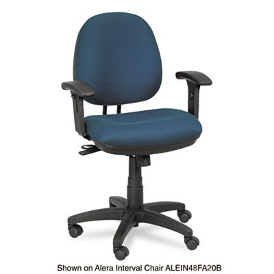 Height Adjustable T-Arms for Interval & Essentia Series Chairs and Stools, Black, Sold as 1 Pair