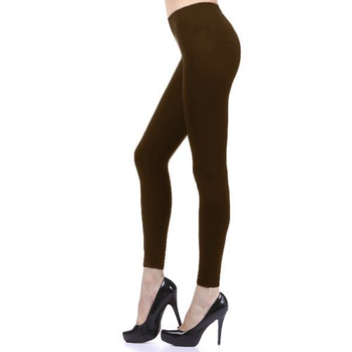 Brown Footless Tights (D&K Monarchy Seamless Full Length Footless Tights Brown 0-6)