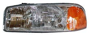 05 sierra headlight assembly - 3