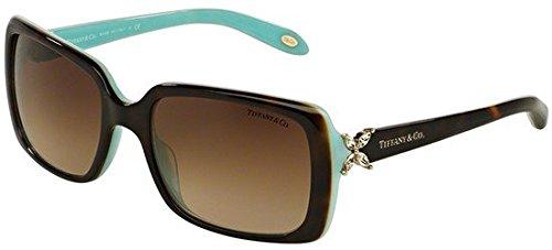Tiffany TIFFANY VICTORIA TF 4047B HAVANA AZURE/BROWN SHADED 55/19/130 women Sunglasses (Tiffany Victoria)