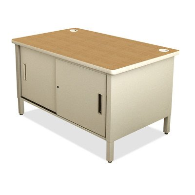 Mailroom 48'' H x 30'' D Utility Sorting Table Finish: Pumice