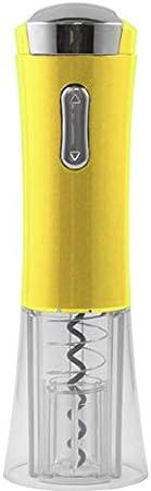 Maxell Power CE SACACORCHOS ELECTRICO Pilas ABREBOTELLAS AUTOMATICO Cortador Etiquetas Colores Garantía (Amarillo)
