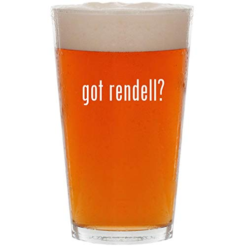 got rendell? - 16oz All Purpose Pint Beer Glass ()