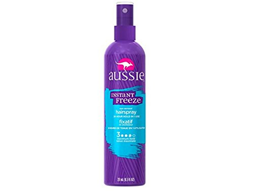 Maximum Hold Styling Spray (Aussie Instant Freeze Hair Spray Non-Aerosol Maximum Hold 8.5 oz (Pack of 3))