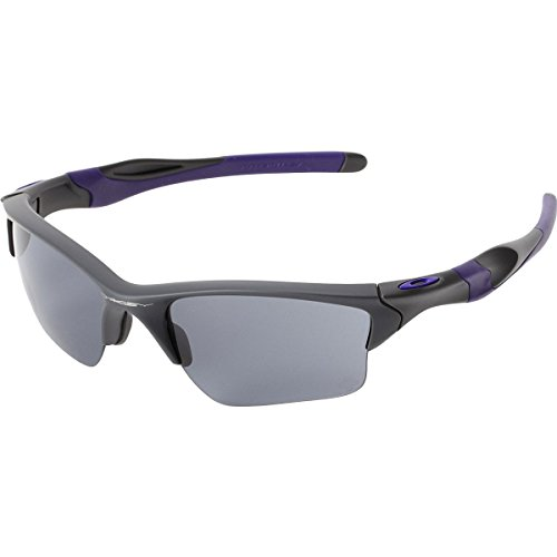 Oakley Men's Half Jacket 2.0 Rectangular Sunglasses, Prizm Golf Lens , Polished Black -