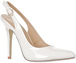 Amazon.com: White - Pumps / Shoes: Clothing Shoes &amp Jewelry