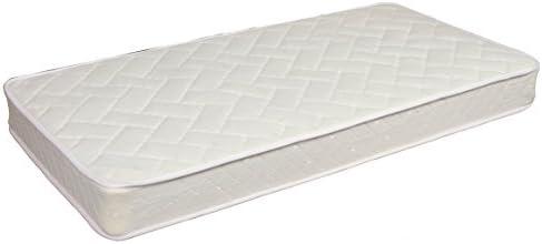 Twin 10 Inch Thick Soft Sleeper 5.5 Mattress With 4 Visco Elastic Memory Foam USA Made