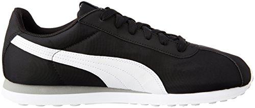 03 Adulte Turin black Nl Mixte Puma Noir white Baskets Basses UwzT6qv