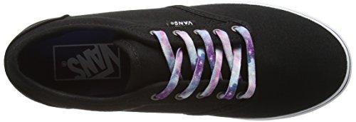 Vans Atwood Low - Zapatillas de Entrenamiento Mujer Negro (cosmic Galaxy Lace/black)