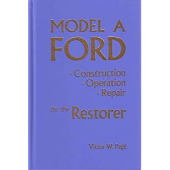 amazon com 1928 1929 1930 1931 ford model a service manual book rh amazon com Ford Focus Manual Ford 600 Manual